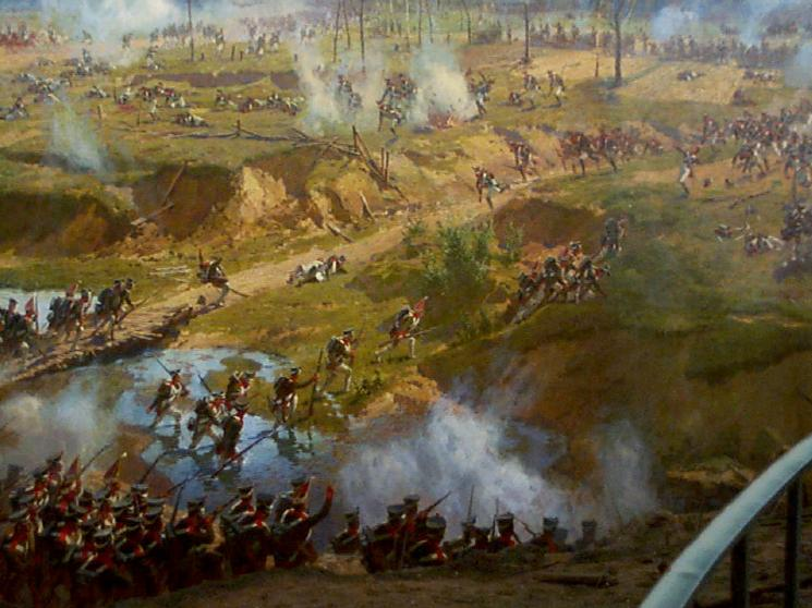 Moscow Russia Panorama Of The Battle Of Borodino