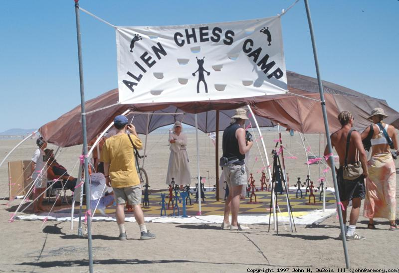 Alien Chess Camp - Outside