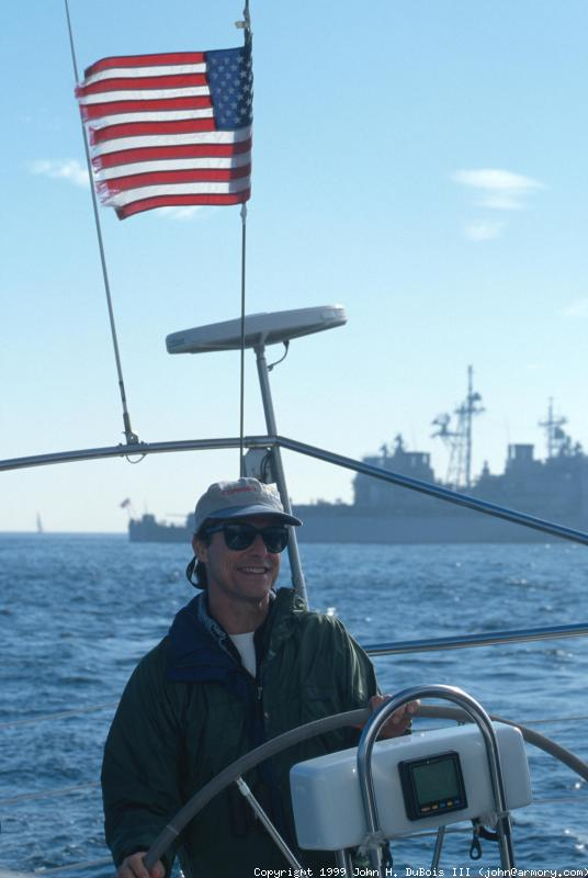 Bob at the Helm