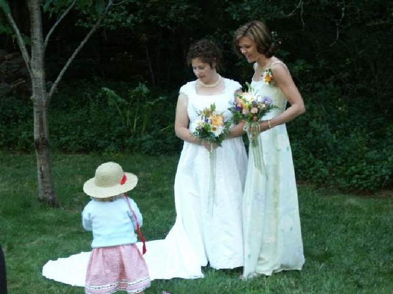 Irene,matron-of-honor Jodie,Nadya