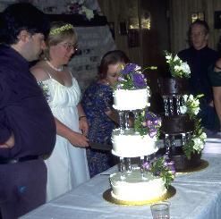 Bela & Sandy & wedding cake