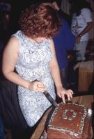 Alicia Cutting Cake