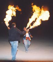 Flamethrower Duel