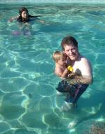 Pool with Dad