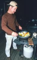 Matt Cooking Vegetables